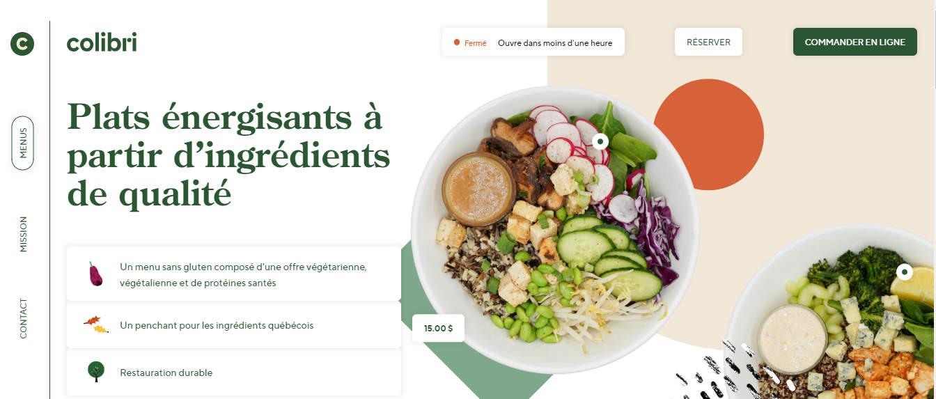 colibri website