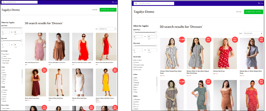 ecommerce search personalisation