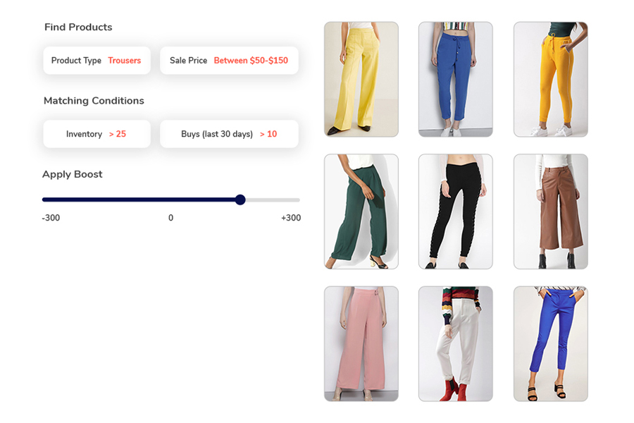 Promoting products in ecommerce