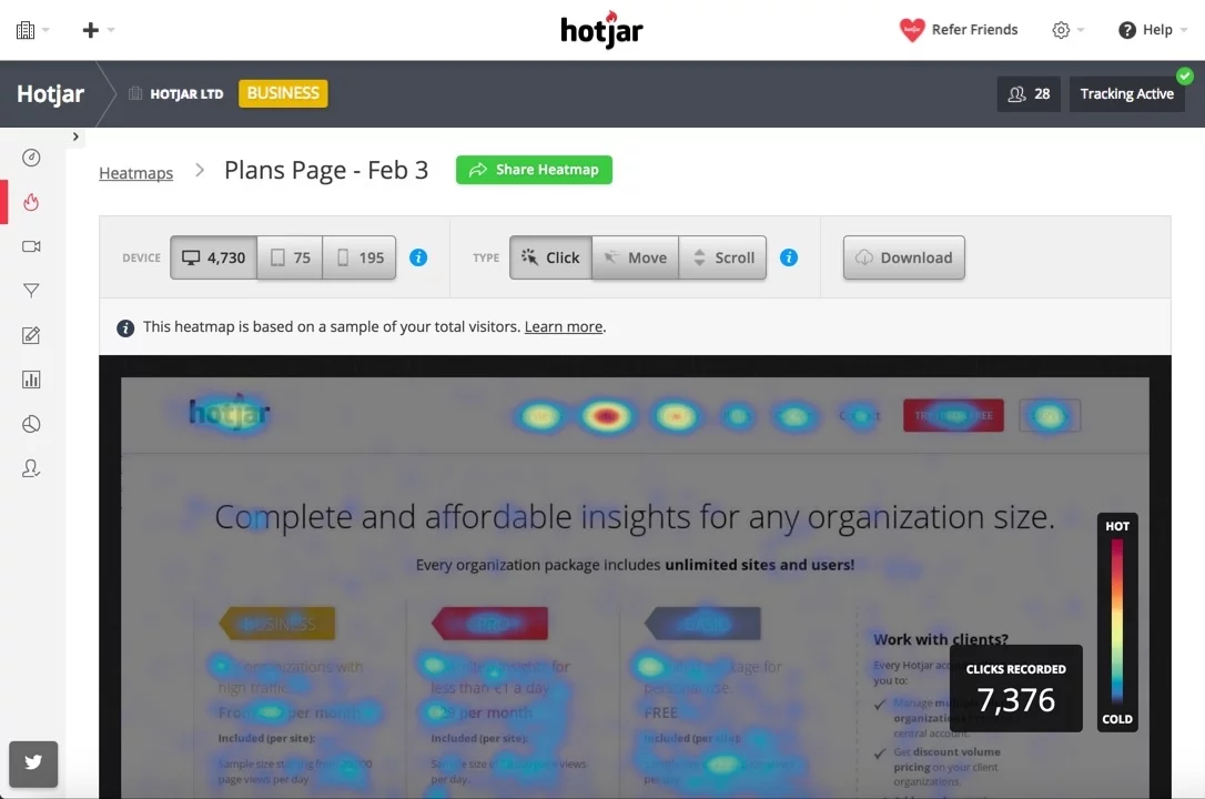 hotjar-heatmaps-for-customer-engagement